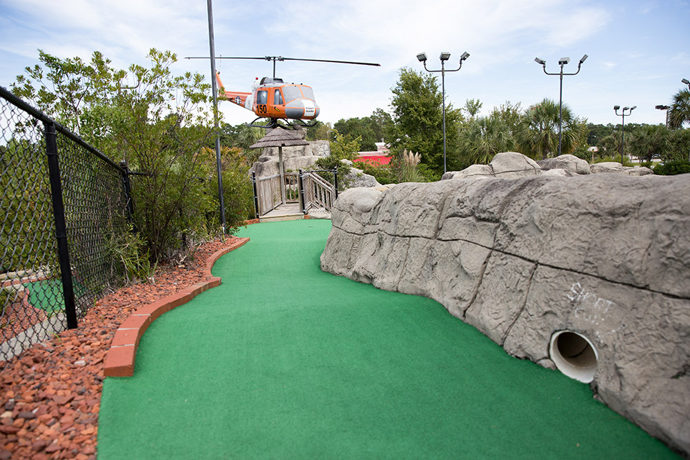 myrtle beach miniature golf course