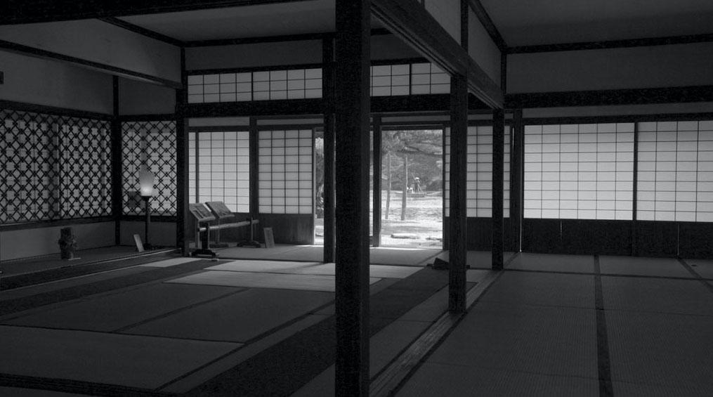 "Still from the film ""Transition of Kikugetsutei"" (2019). Produced by the Norihito Nakatani Seminar, Waseda University. Directed by Kenji Seo."