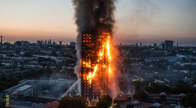 London's tower fire has raised questions over inadequate safety standards