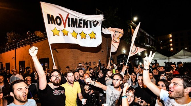 Italian election has shown widespread discontent with the political establishment