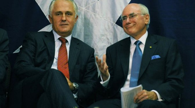 John Howard and the dying Turnbull government