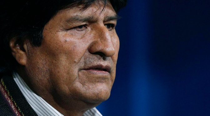 Coup in Bolivia leads to a political crisis