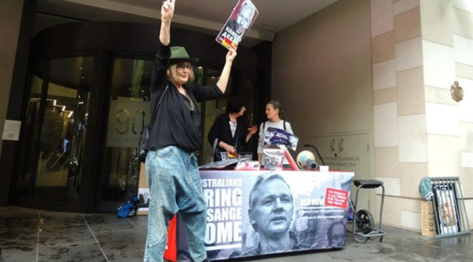 There is a groundswell of support for Julian Assange