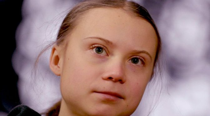 Greta Thunberg calls for new path after pandemic