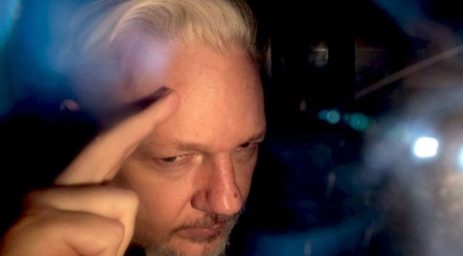 Julian Assange faces new smear campaign from the United States