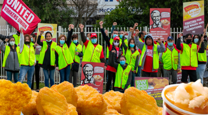 McCormick workers demand to be treated with respect