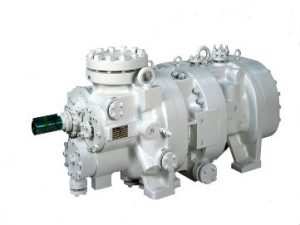 MYCOM GH-series high pressure screw compressor by Mayekawa