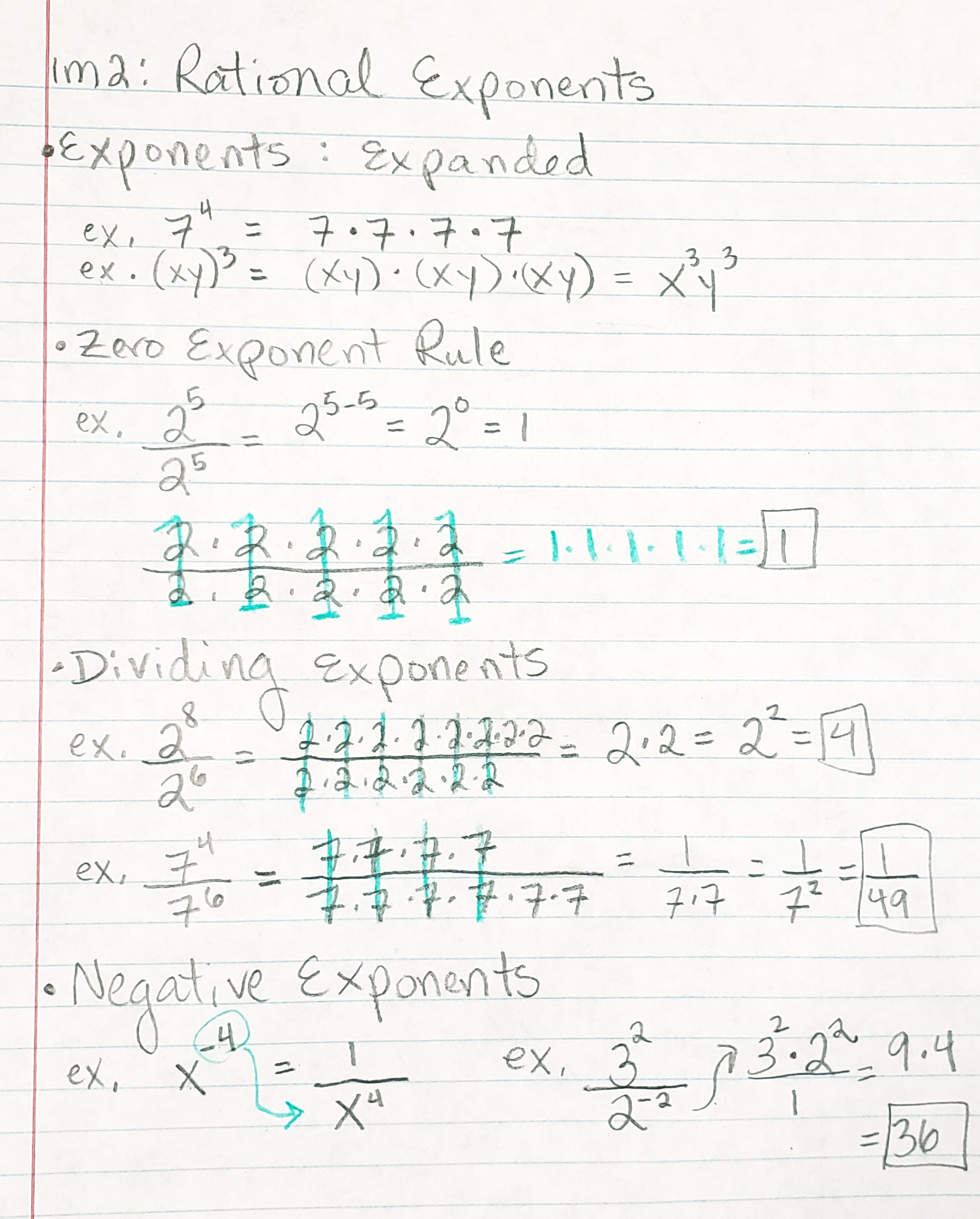 1 1 Explain Rational Exponents Amp Radicals Mrs Mayer S