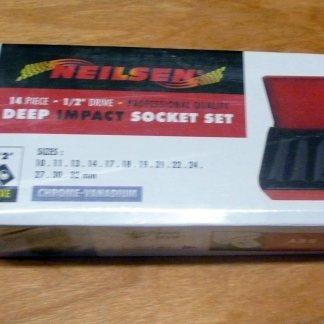 "Nielsen Deep Impact Socket Set 11pc 1/2"" drive"