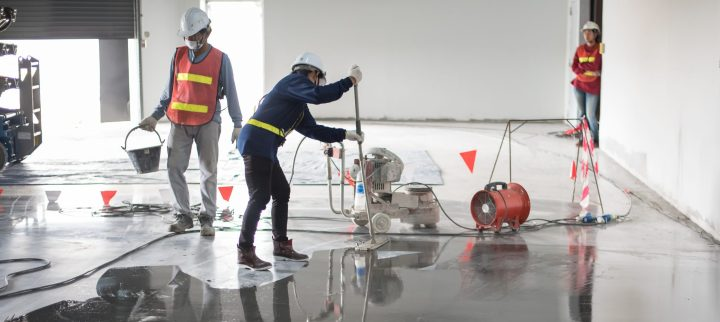 EPOXY FLOOR PREPARATION AND SCARIFICATION
