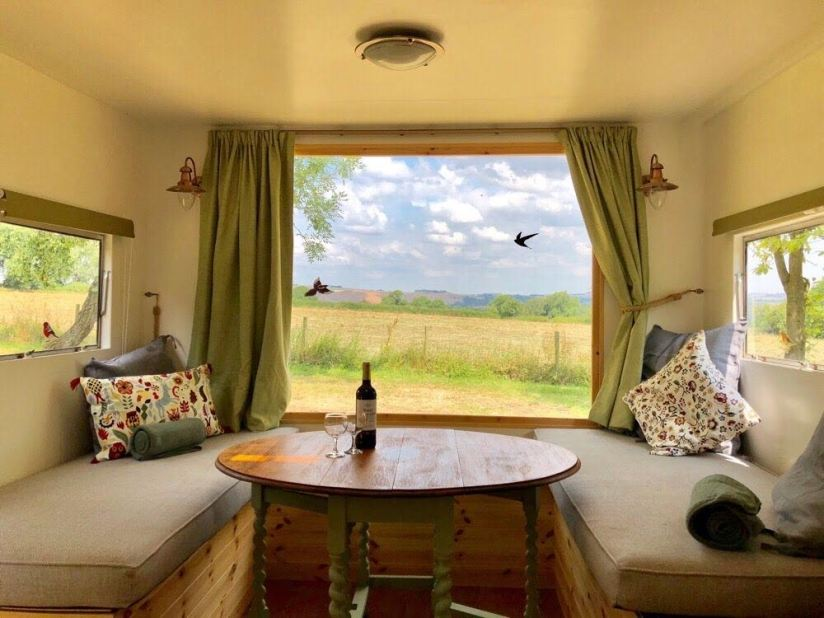 Mayfield Hideaway Peak District Self Catering Accommodation Barn and Caravan