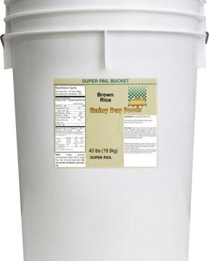 Brown Rice - 5 Gallon Bucket