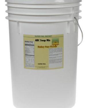 Storable Foods in Buckets