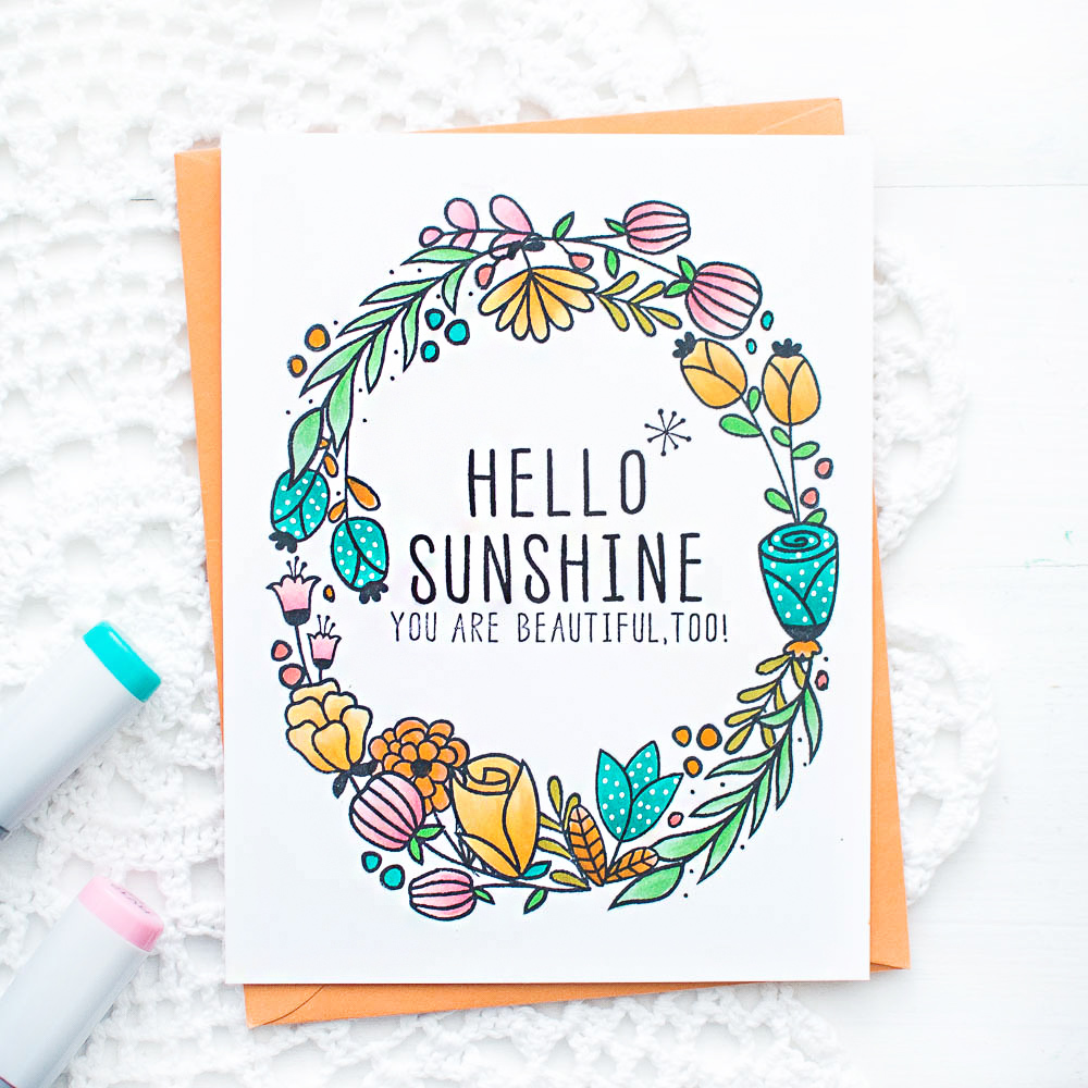 clean-and-simple-handmade-card-using-altenew-floral-stamps