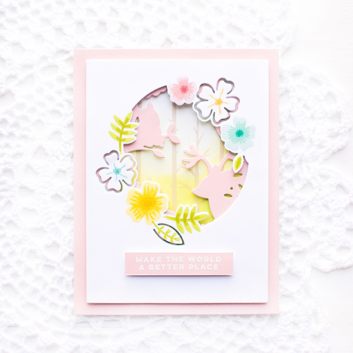 Pink Fresh Studio Scrapbook Cards Today Magazine Feature