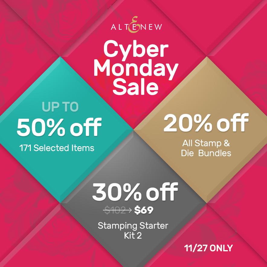 altenew-cyber-monday-sale-50-off-stamps-dies-inks