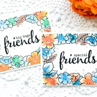 Video: Floral Frame Watercolor Card w/ Border Stamping and Watercoloring ( +5 Watercoloring Tips)
