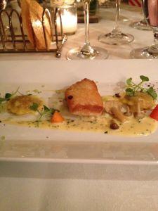 cod with dumplings