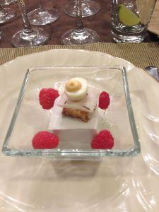 quail egg amuse-bouche