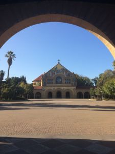 the Stanford Quad