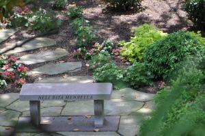 Franciscan monastery garden