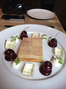 Terrine of duck foie gras