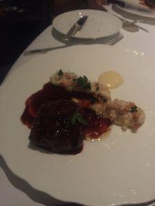 beef glazed with bone marrow