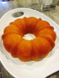 butter almond cake