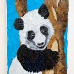 Panda Bear Mosaic