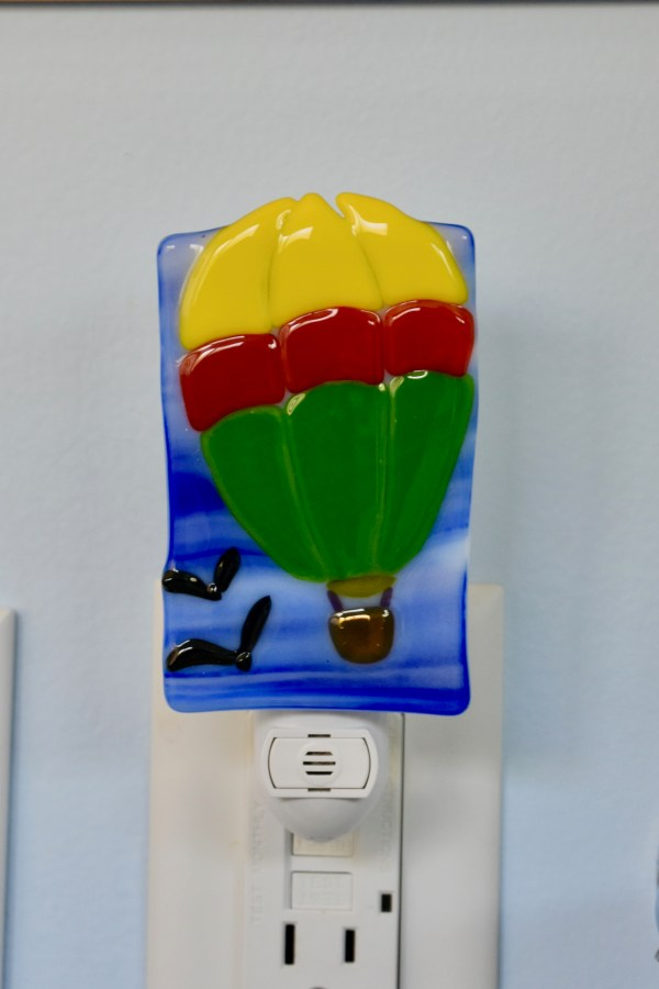 Fused Glass Parachute