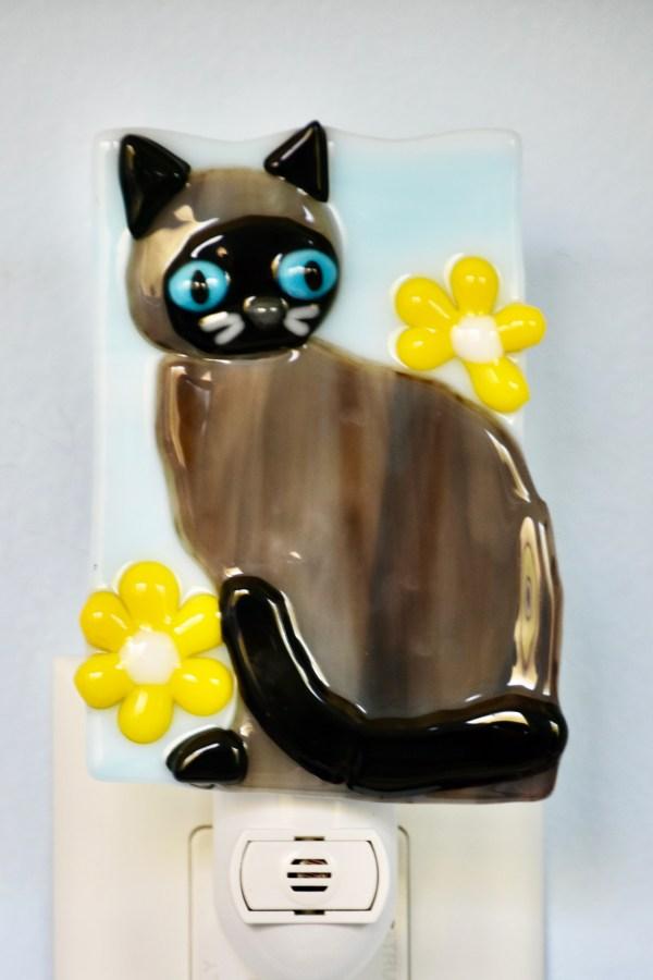 Siamese Cat Night Light