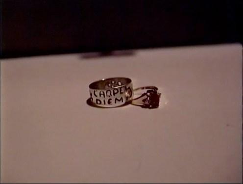 Wedding rings in 'Shot'
