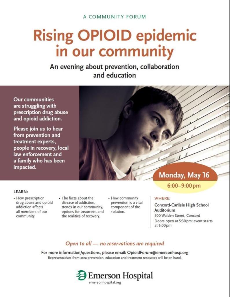 Opiod Conference Flyer