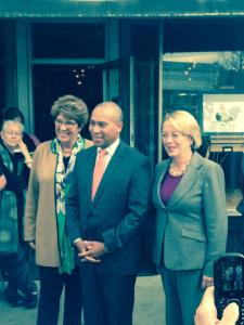 Governor Patrick, Congresswoman Tsongas & Rep. Hogan