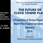 Join us: The Future of Clock Tower Place, June 11