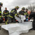 Photos: Maynard Police and Fire Conduct Mock OUI Fatality Crash to Coincide with Prom Safety