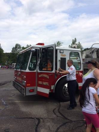 Truck Day 2015 MFD Chief