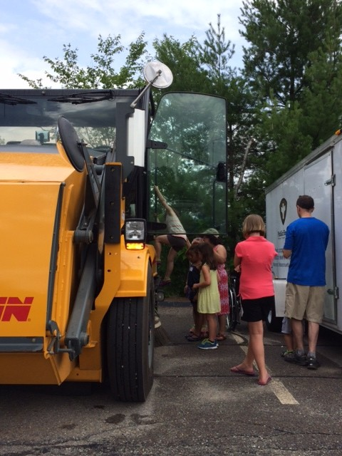 Maynard Library Hosts Another Successful Children's Truck Day ...