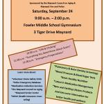 Senior Health and Safety Expo at Fowler Gym Sept. 24th