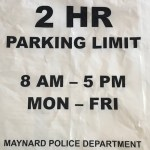 Maynard Downtown Parking Pilot Program