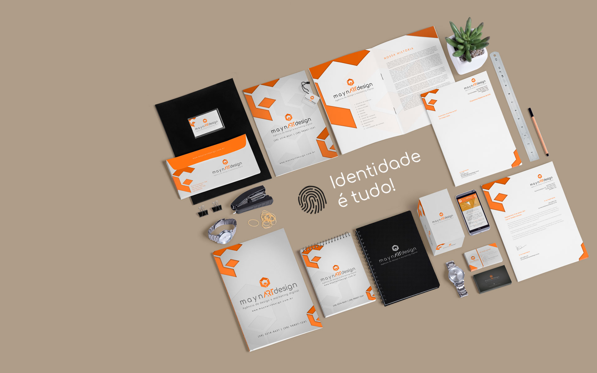 maynARTdesign | Agência de design e Marketing Digital: Branding