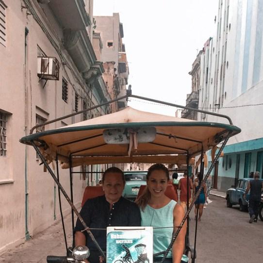 Bicitaxi en La Habana Vieja