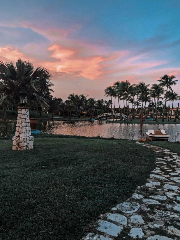 Atardecer en Parque Josone. Varadero, Cuba