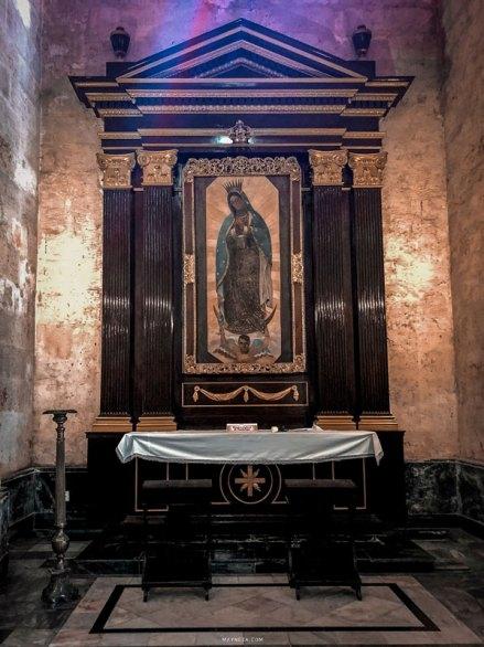Virgen de Guadalupe - Catedral de la Habana