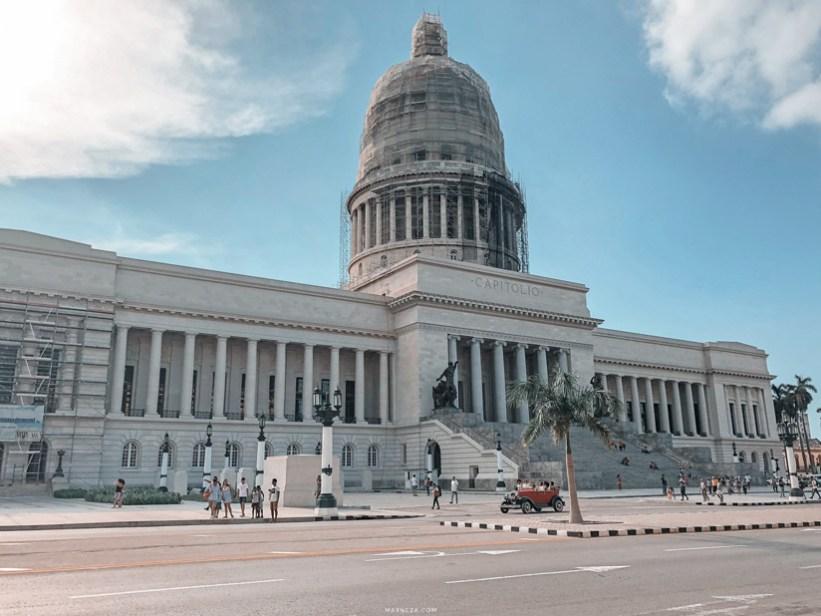 El Capitolio de La Habana, Cuba