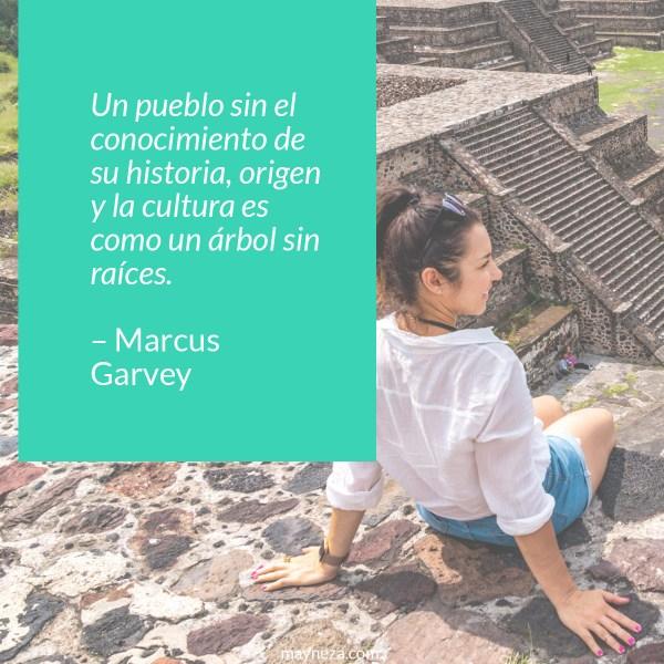 frases de motivacion para estudiantes - Un pueblo sin el conocimiento de su historia, origen y la cultura es como un árbol sin raíces. – Marcus Garvey