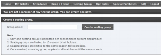 gaa season ticket group seating set up