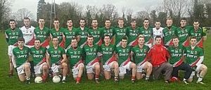 U21 team 4th jan 2014