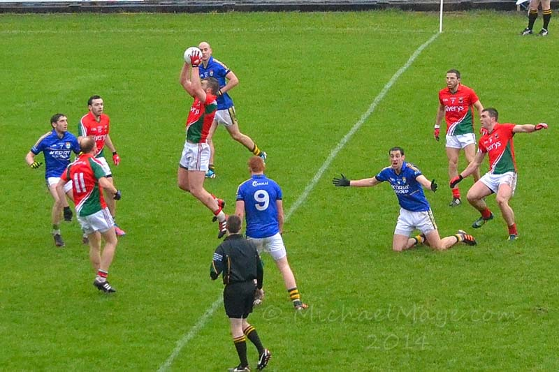 Mayo v Kerry 2nd February 2013 in Mc Hale Park Castlebar.