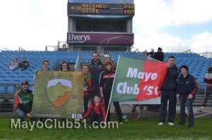 Mayo Fans at McHale Park